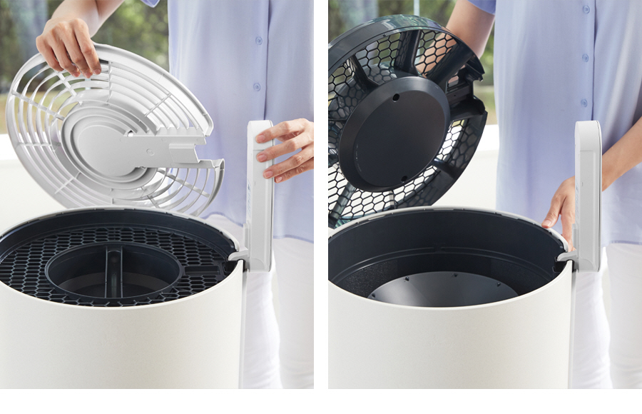 SK magic All Clean Air Purifier ACL-20C INNOVATIVE & CONVENIENT DESIGN THAT IS EASY FOR ALL!